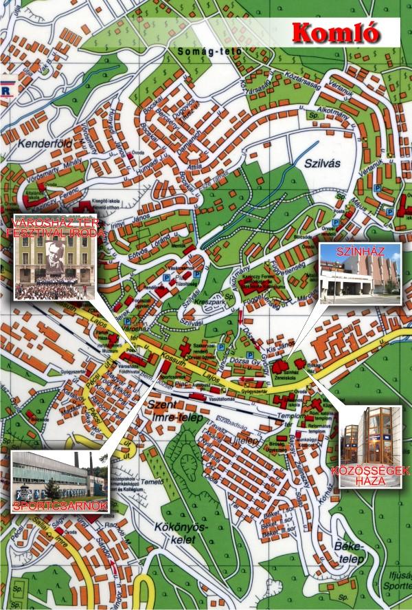 komló térkép XVI. Kodály Zoltán Nemzetközi Gyermek Kórusfesztivál   Közösségek  komló térkép